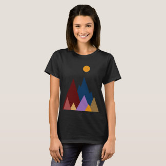 Moon Over The Mountains #2 T-Shirt