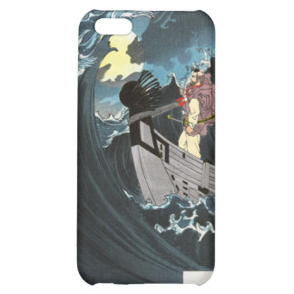 Moon Over the Waters at Daimotsu Bay iPhone 5C Cover