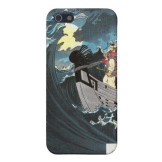 Moon Over the Waters at Daimotsu Bay Covers For iPhone 5
