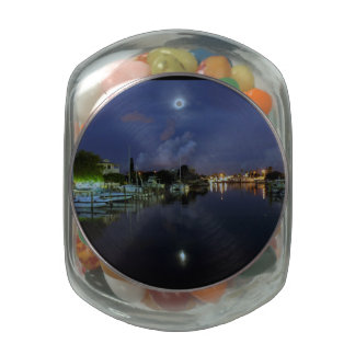 Moon Over Treasure Island Jelly Belly Candy Jar