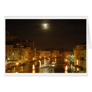 Moon Over Venice Card