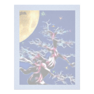 Moon Over Witch Tree Letterhead