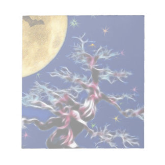 Moon Over Witch Tree Notepad
