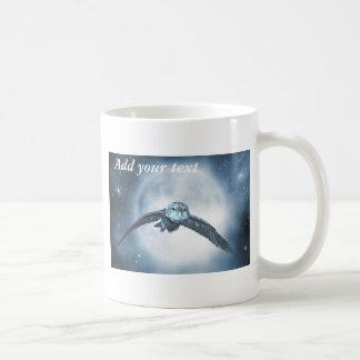 Moon owl mug