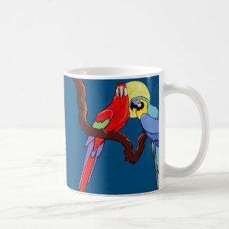 Moon Parrots Coffee Mugs