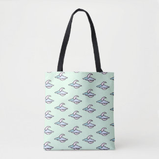 Moon Pattern Tote