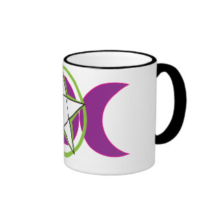 Moon Pentacle Mugs