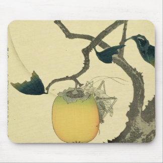 Moon, Persimmon and Grasshopper, 1807 Mouse Pad