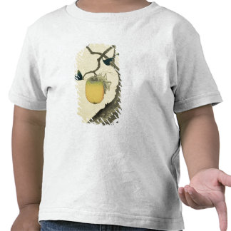 Moon, Persimmon and Grasshopper, 1807 T Shirts