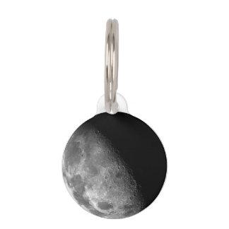 Moon Pet ID Tag