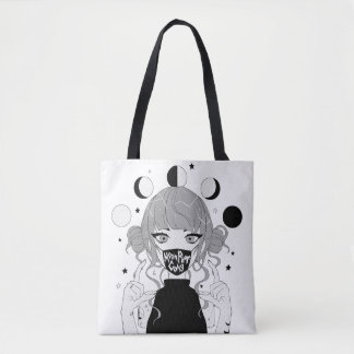 MOON PHASE GANG Light Tote