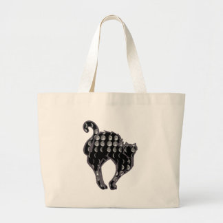 Moon Phase Kitty Canvas Bag