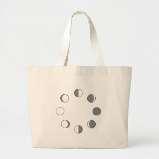 MOON PHASES CANVAS BAGS