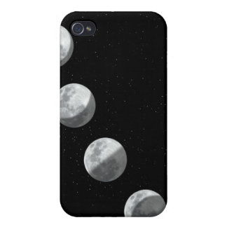 Moon phases cases for iPhone 4