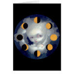 """""""Moon Phases"""" Greeting Card"""
