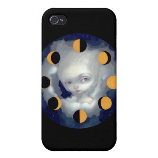 Moon Phases iPhone 4 Case