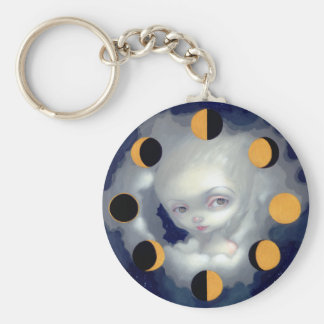 """""""Moon Phases"""" Keychain"""