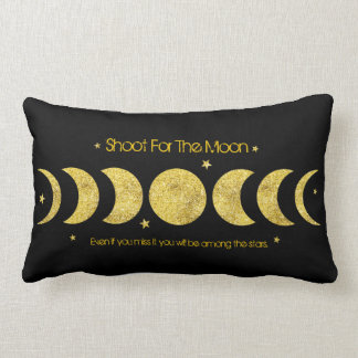 Moon Phases Lumbar Pillow