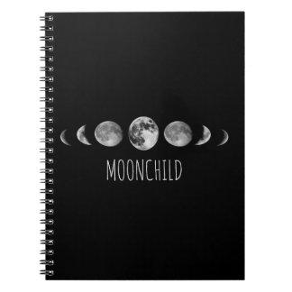 Moon Phases * Moonchild Notebook