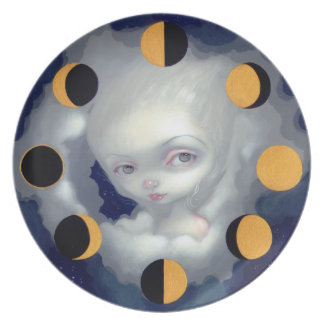"""""""Moon Phases"""" Plate"""
