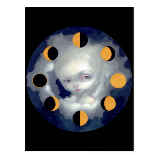"""Moon Phases"" Postcard"