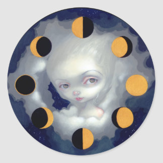"""Moon Phases"" Sticker"