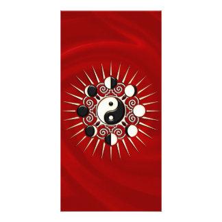 Moon Phases, Sun & Yin Yang - Polarity & Duality Card