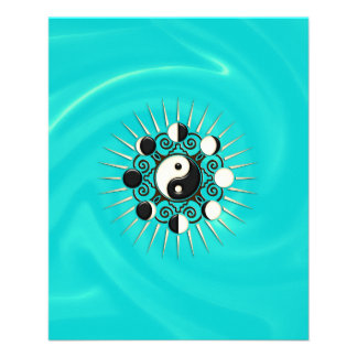 Moon Phases, Sun & Yin Yang - Polarity & Duality Flyer