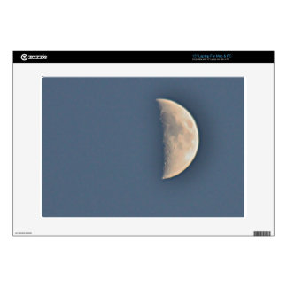 Moon photo laptop decal