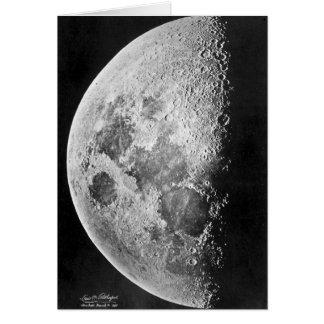 Moon ~ Photograph 1865 Card