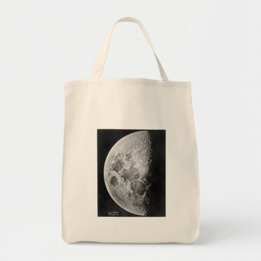 Moon ~ Photograph 1865 Grocery Tote Bag