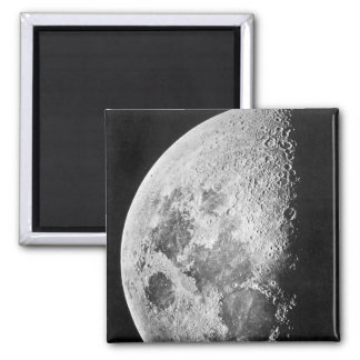 Moon ~ Photograph 1865 Fridge Magnets