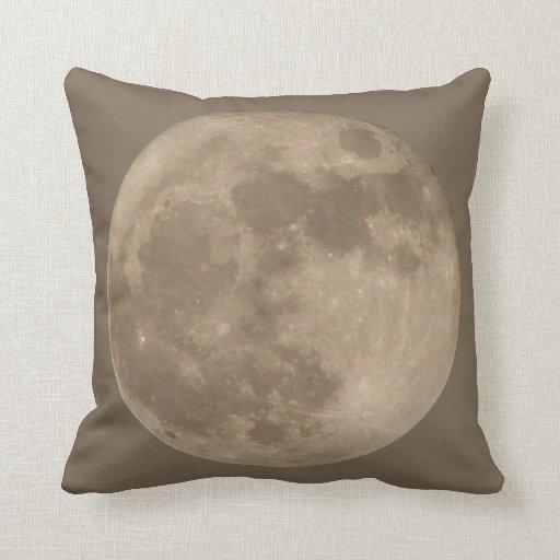 Moon Pillow Full Moon Throw Pillow Moon Gifts