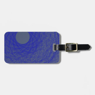 moon please forget to fall down to the blue ocean bag tag