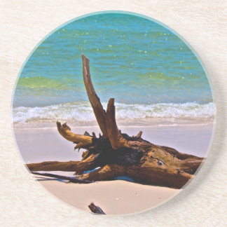 Moon point -fraser island drink coaster
