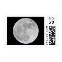 Moon Postage Stamp
