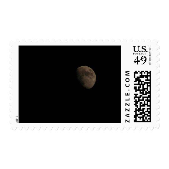Moon Postage Stamp