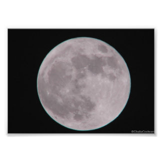 Moon Poster Photo Print