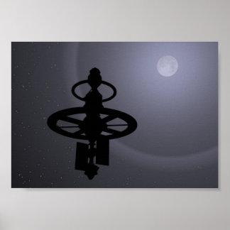 Moon Probe Poster
