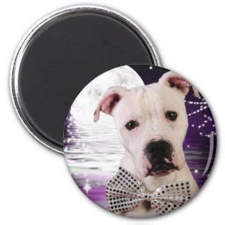 Moon puppy 2 inch round magnet