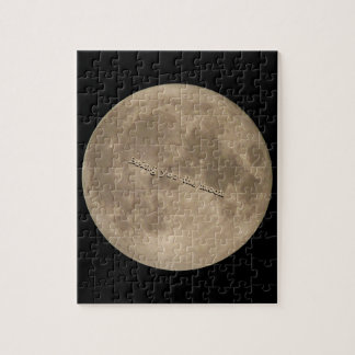 Moon Puzzle Personalized Full Moon Puzzles