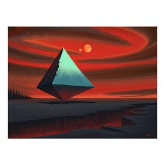 Moon Pyramid Photo Art