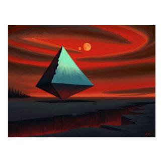 Moon Pyramid Postcard