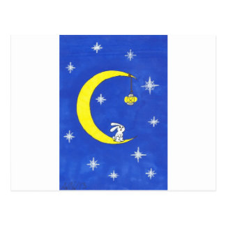 MOON RABBIT AND THE LANTERN POST CARDS