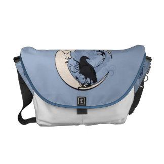 Moon Raven Messenger Bag
