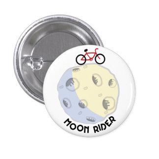 Moon rider button pin redondo de 1 pulgada