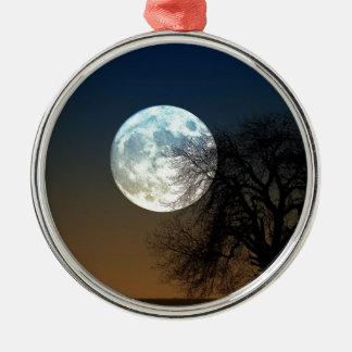 Moon Rise Metal Ornament