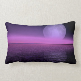 Moon Rise Pink Hazy Pillow