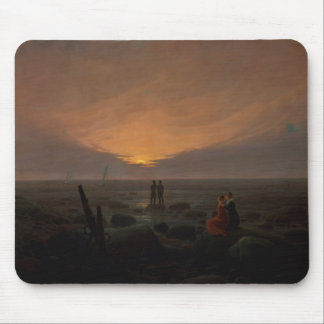 Moon Rising Over the Sea, 1821 Mouse Pad