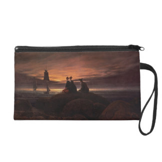 Moon Rising Over the Sea, 1822 (oil on canvas) Wristlet